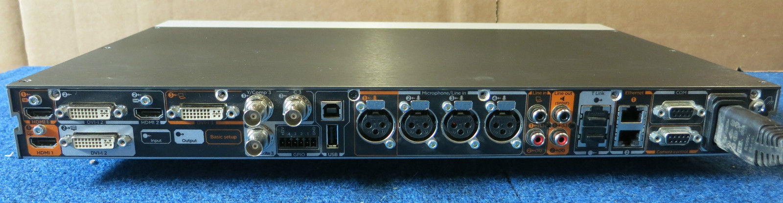 tandberg cisco codec c60 ttc6 10 hd video conferencing unit cts rh itinstock com Cisco C40 Inputs Cisco C40 Outputs